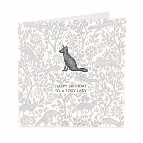 Foxy Lady Card