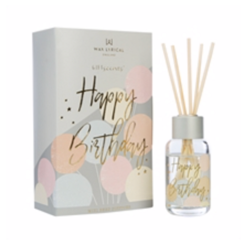 Wax Lyrical 40ml Happy Birthday Diffuser