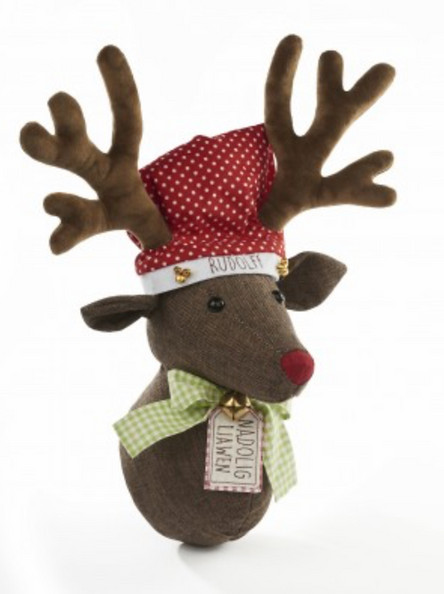 Festive welsh Deer Head