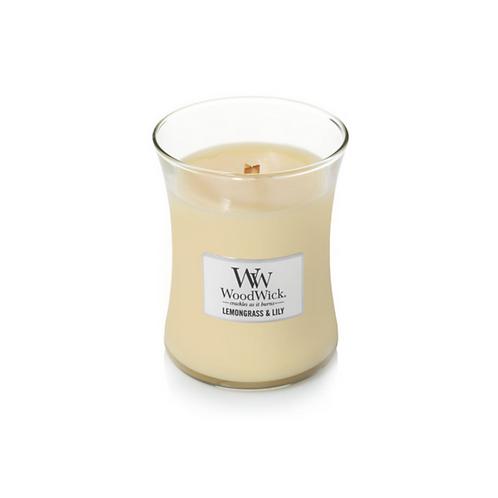 Lemongrass & Lily Woodwick Medium Candle