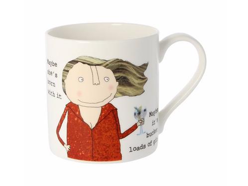 Rosie Made A Thing Bucket Loads Of Gin Mug