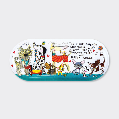 GLASSES CASE ‐ THE BEST FRIENDS…. DOGS