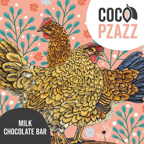 Fox & Boo's Milk Chocolate Bar 80g
