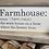 Thumbnail: Farmhouse Plaque