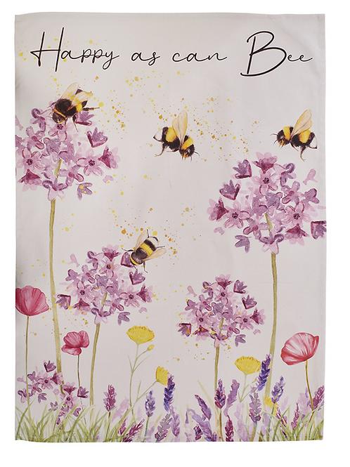 BEAUTIFUL BEE TEA TOWEL