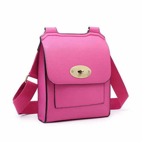 Messenger Bag - Fuschia