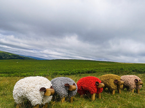 SHEEP STOOL - Handmade in Wales