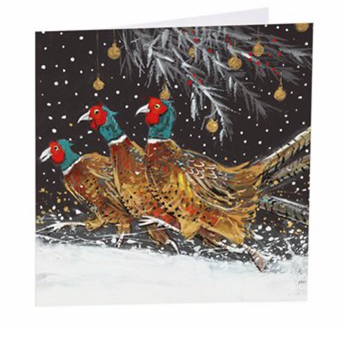 Christmas Pheasants-6 Pack