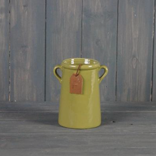 Olive Vase 14cm