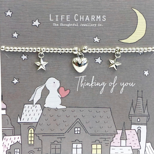 ROSEY RABBITS - THINKING OF YOU BRACELET