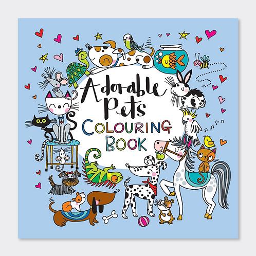 ADORABLE PETS COLOURING BOOK