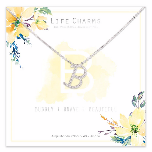 B is for...Necklace
