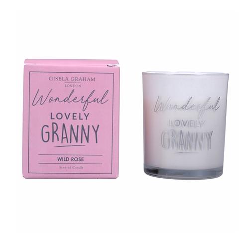 Boxed Sentiment Votive Candle - Granny