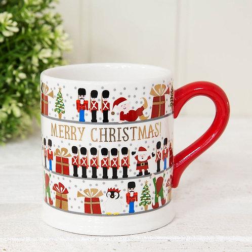Merry Christmas Tin Soldier Mug