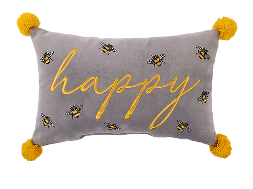 HAPPY LUXE BEE CUSHION