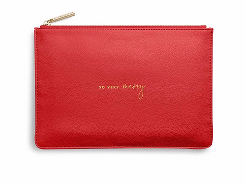 Perfect Pouch | So Very Merry