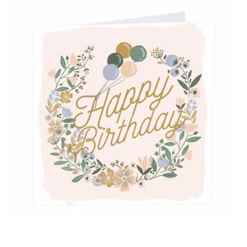Birthday Wreath Card