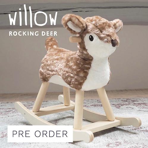 Willow Rocking Deer
