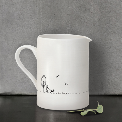 Sml jug-Be happy