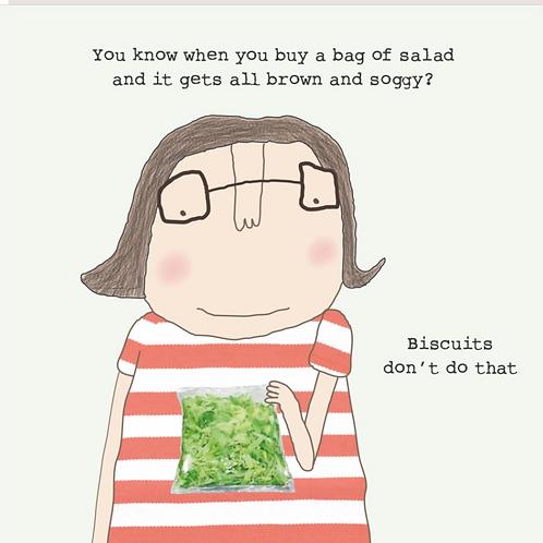 Soggy Salad Card