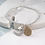 Thumbnail: Silver Plated Moon, Star And Planet Bracelet