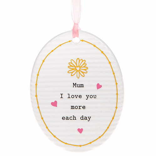 Thoughtful Words Mother's Day Oval Plaque Mum/Day