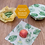 Thumbnail: Beeswax Food Wraps – Fruit Pattern – 3 Pack (2x Medium, 1x Large)