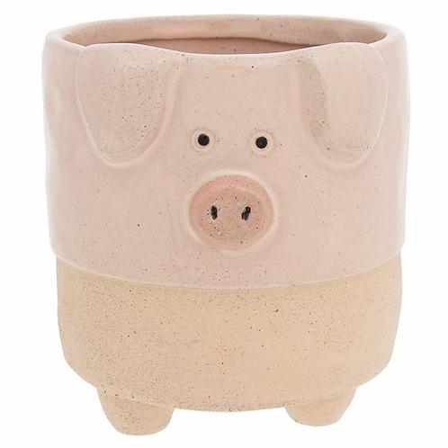 Pot Pals Pig Planter Large