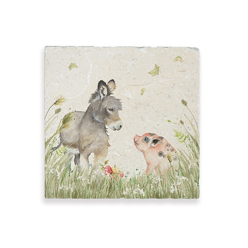 COUNTRY COMPANIONS: DONKEY AND PIG MEDIUM