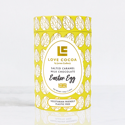 Love Cocoa Salted Caramel 150g Easter Egg