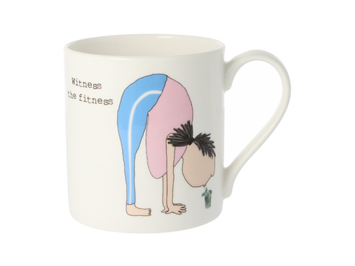 Rosie Made A Thing Witness The Fitness Mug