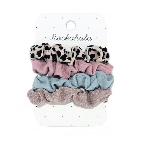 Lily Leopard Scrunchie Set
