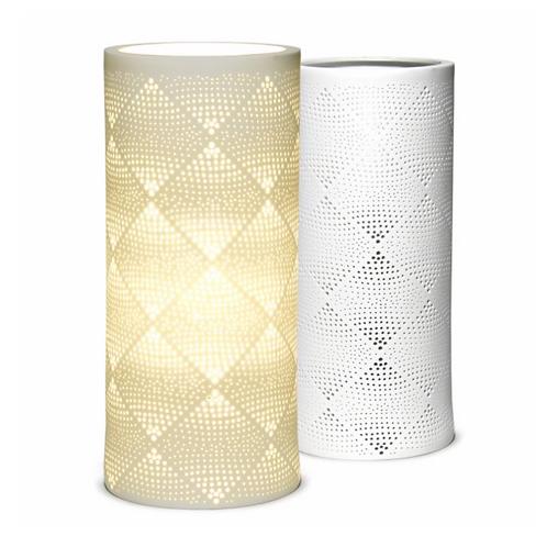 Ceramic Lamp – Squares columna