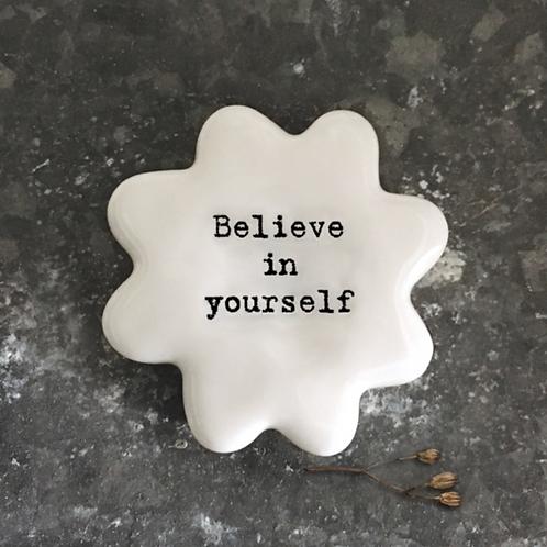 Flower token-Believe in yourself