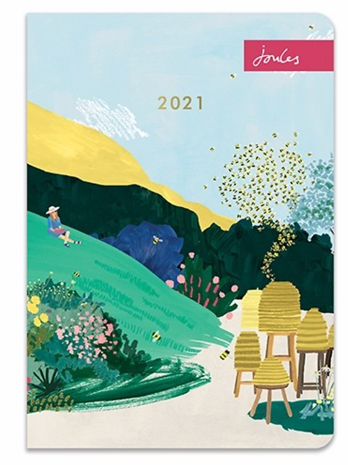 Joules A5 Flexi Diary 2021