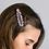 Thumbnail: Pink mix animal spot and crystal hair clips