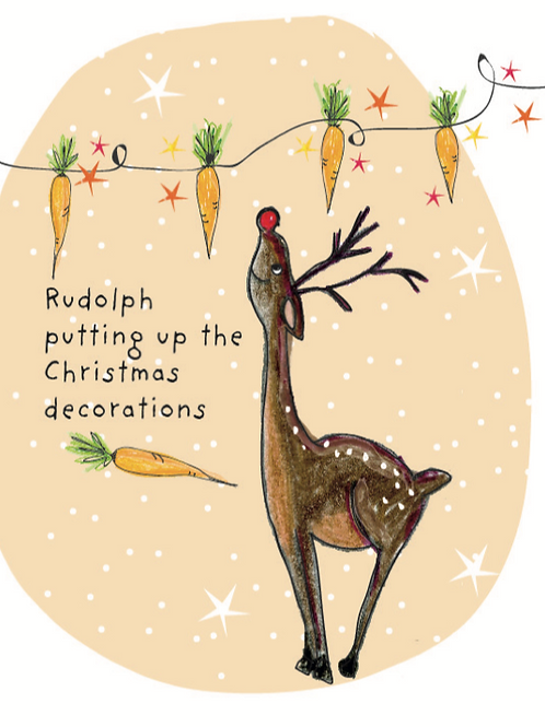 Rudolph seed Card