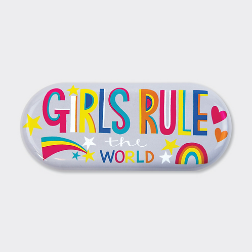 GLASSES CASE ‐ GIRLS RULE THE WORLD