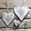 Thumbnail: Rustic heart coaster-Known grandchildren