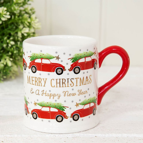 Merry Christmas Car Mug