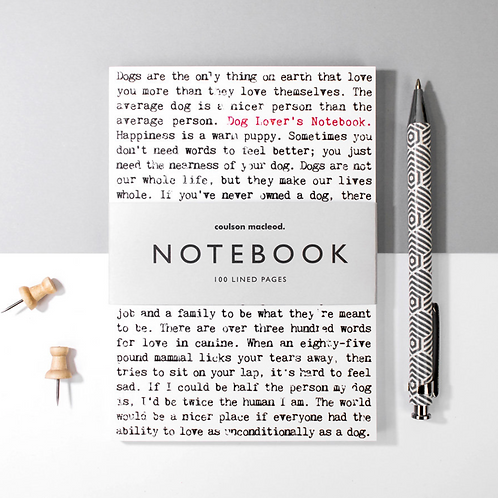 Wise Words A6 Pocket Notebook for Dog Lovers