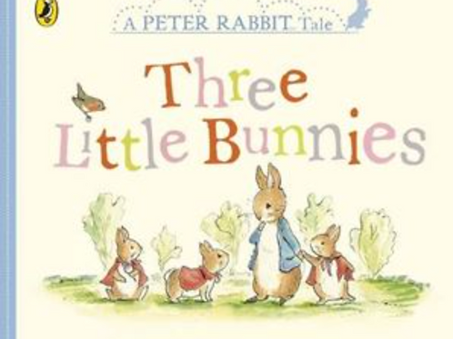 Peter Rabbit-Three Little Bunnies