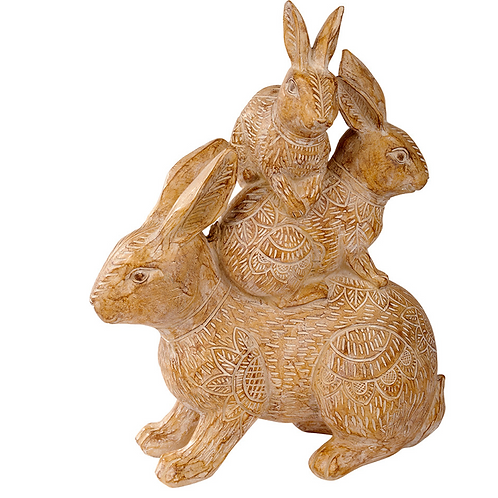 Hare Family Ornament