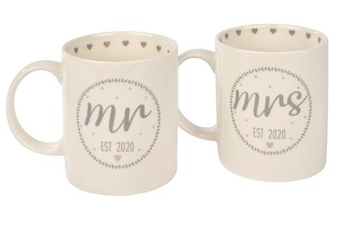 MR & MRS EST 2020 MUGS