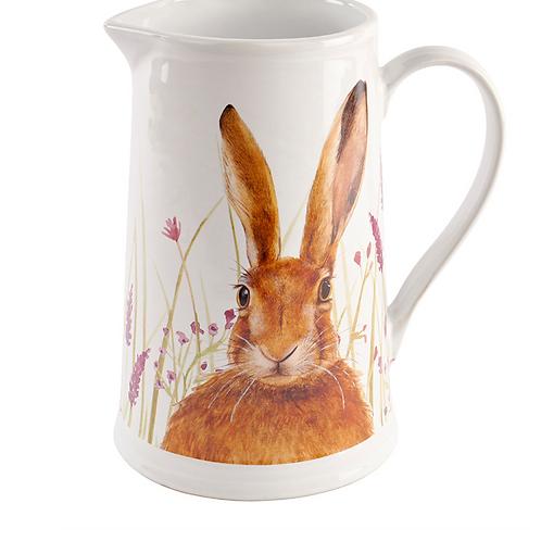 Floral Hare Jug