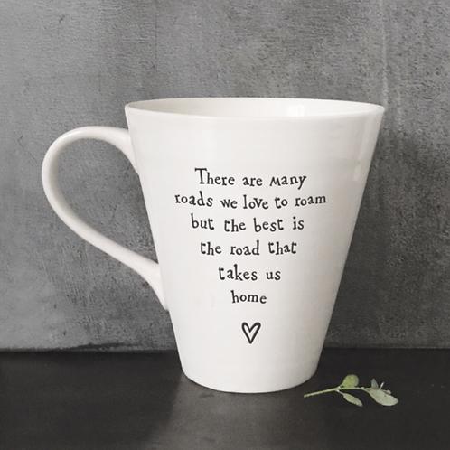 Porcelain mug-Road to take home