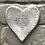 Thumbnail: Rustic heart coaster-Live to be one hundred