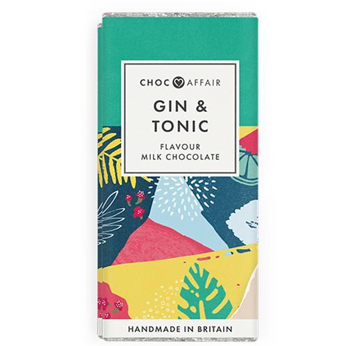 Gin & Tonic Flavoured Milk Chocolate Bar
