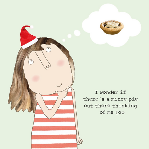 Mince Pie Card