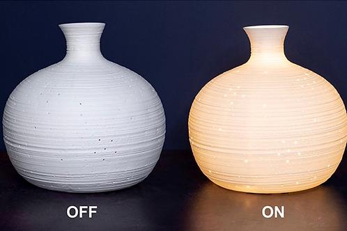 Porcelain Globe Lamp Stars